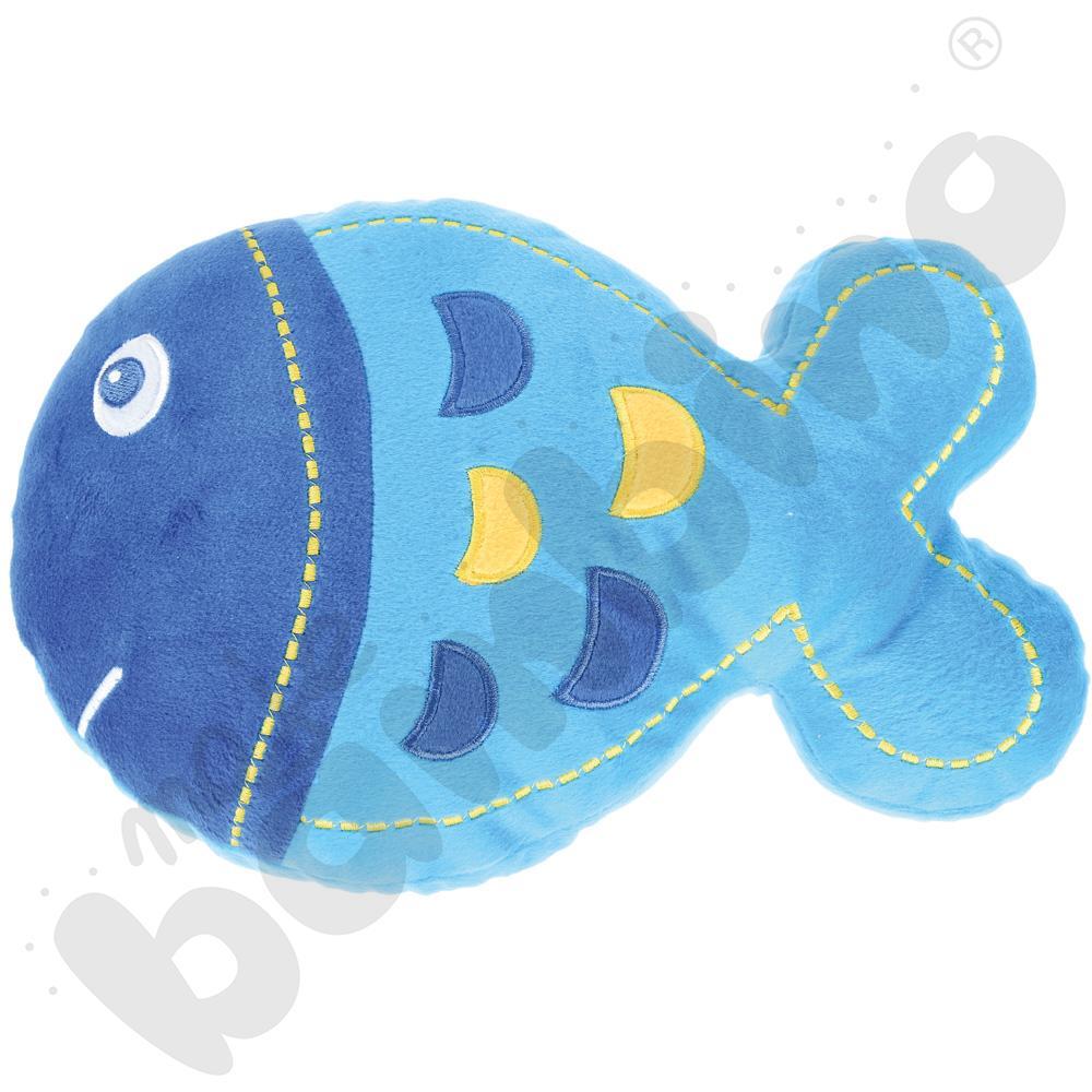Poduszka FLAT rybka - niebieska