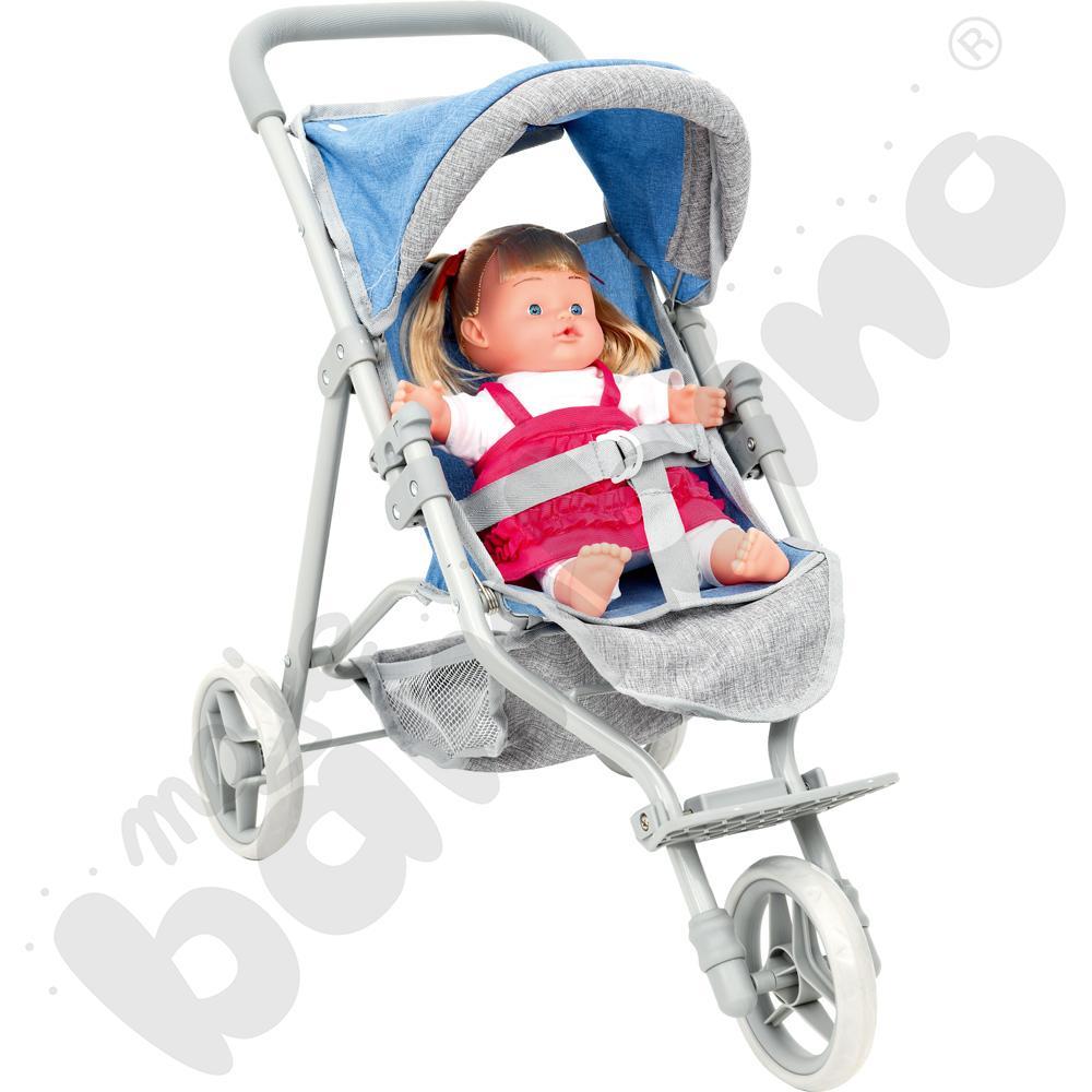 Wózek z lalką - zestaw Hani