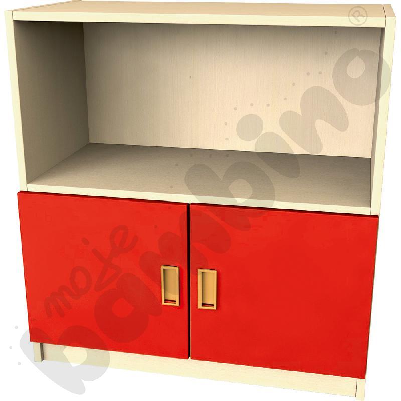 Drzwi małe do regału - czerwone