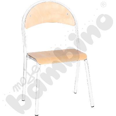 Krzesło P rozm. 2 srebrne