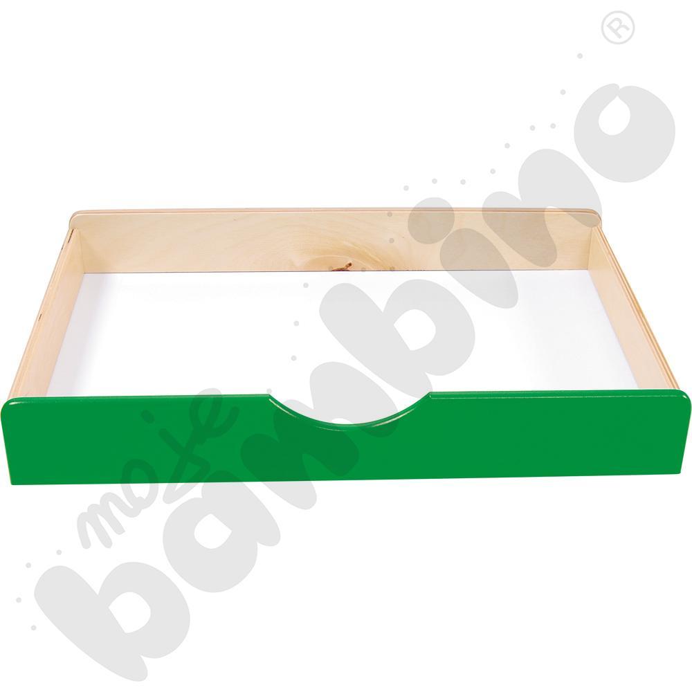 Szuflada drewniana BIS - zielona