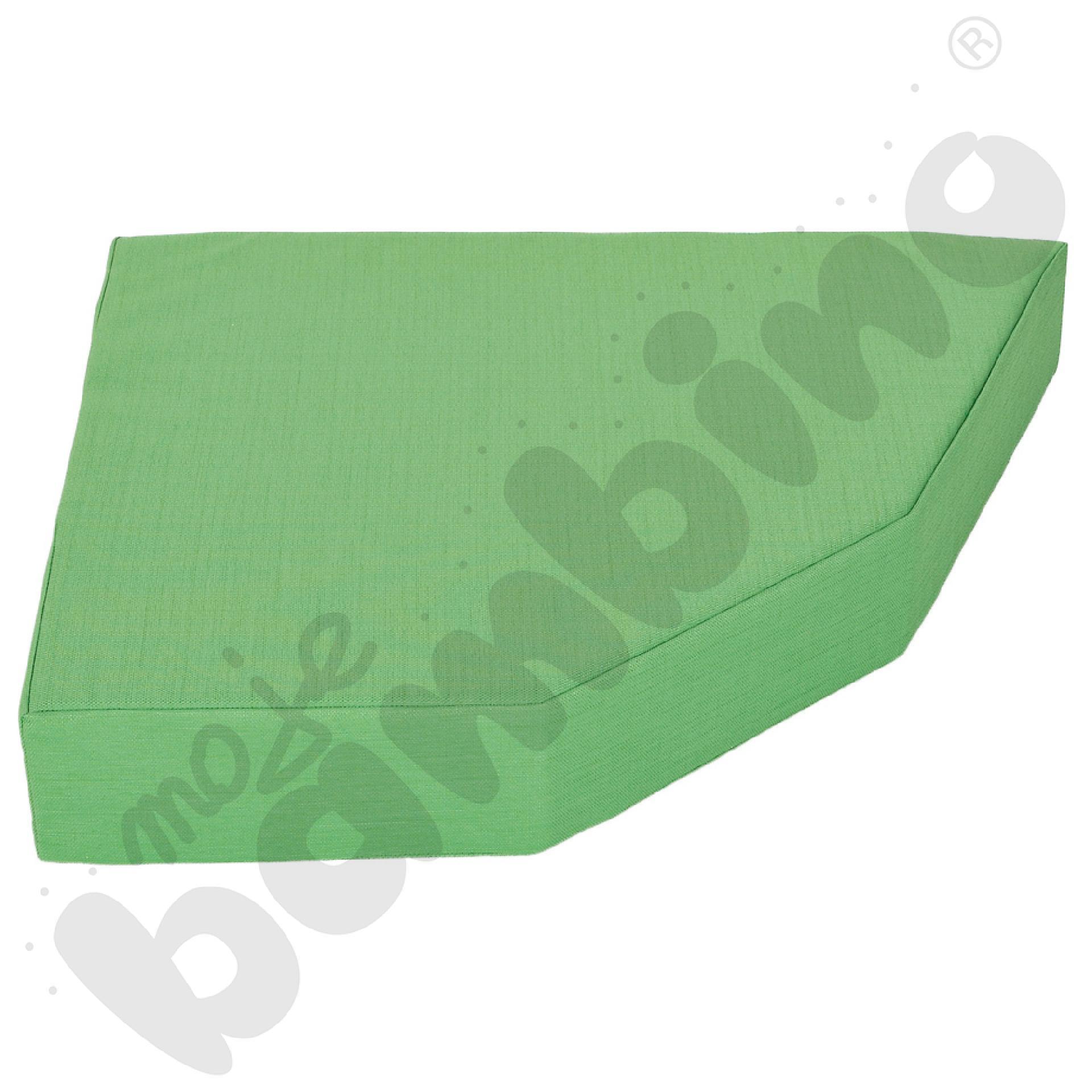 Materac Quadro 2 zielony, wys. 15 cm