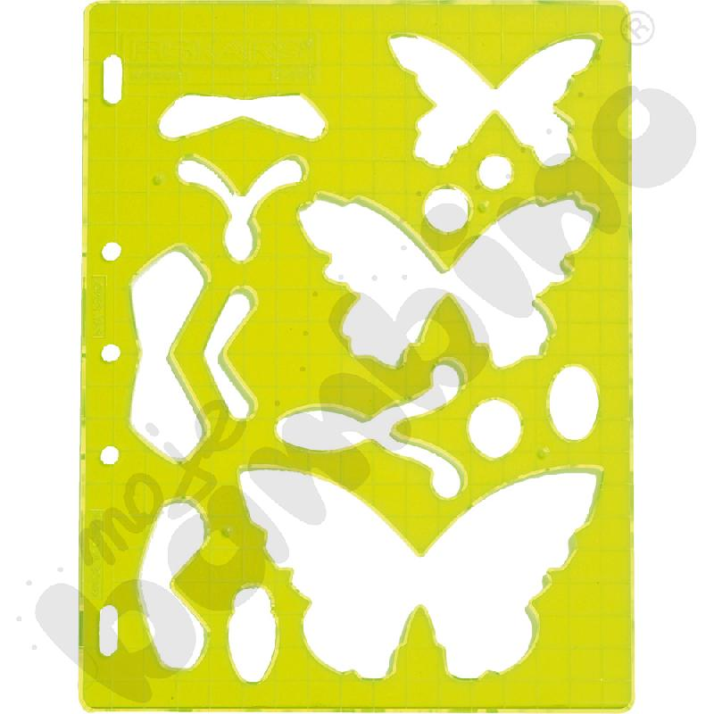Szablony do wycinania - motylki