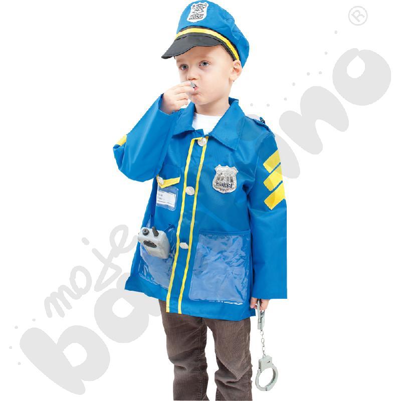 Policjant - kostium z akcesoriami