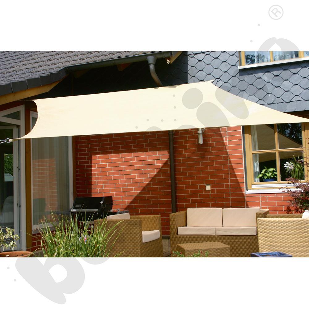 Materiałowy dach ochronny 3 x 3 m beżowy