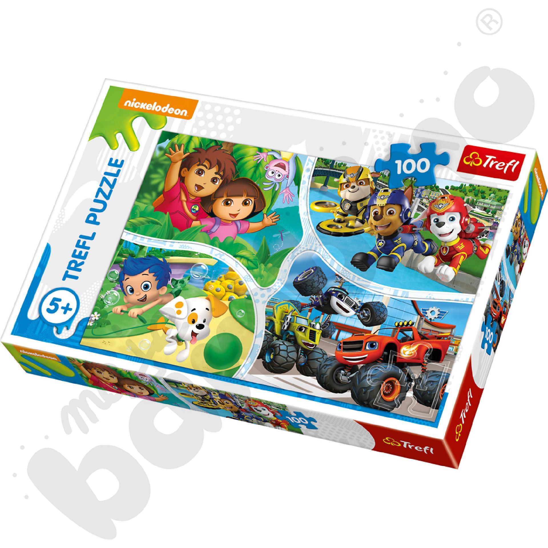 Puzzle Nickelodeon Junior 100 el.