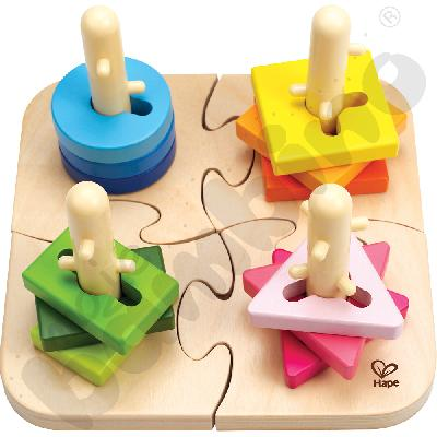 Sorter kształtów z kołeczkami
