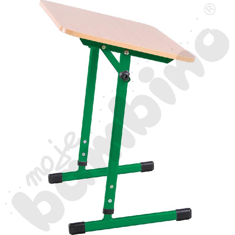 Stabilny stół pochylny 1-os. T 3-4 zielony