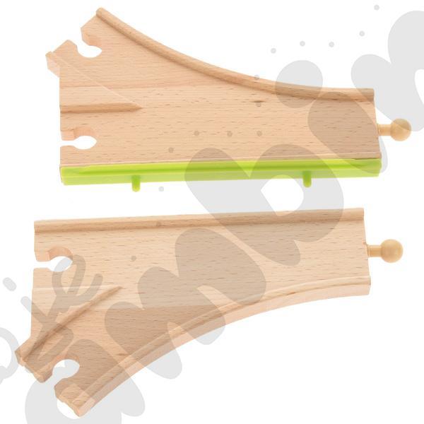 Drewniane tory - uzupełnienie 26, podwójne tory