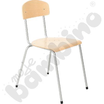 Krzesło Bambino rozm. 6 srebrne