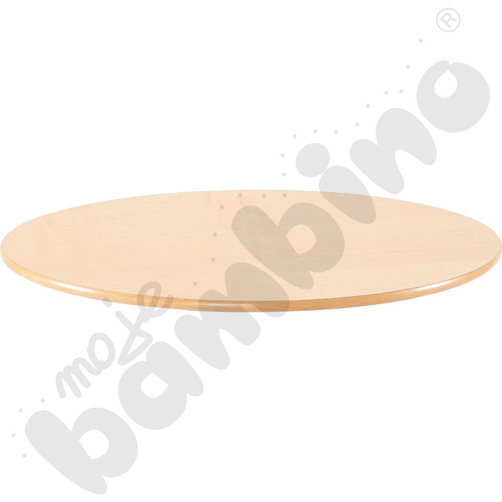 Blat Flexi okrągły - bukowy