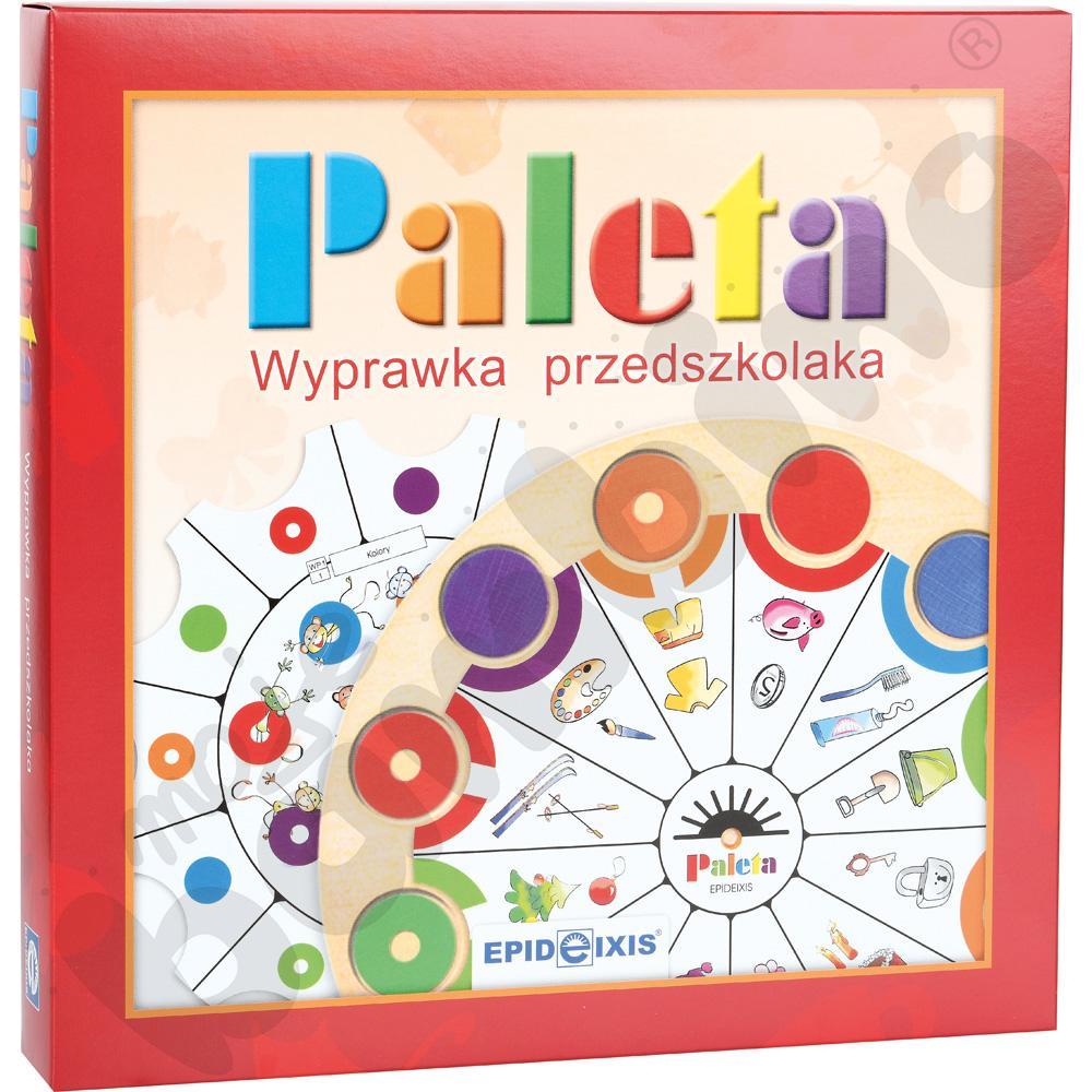 Wyprawka przedszkolaka PALETA