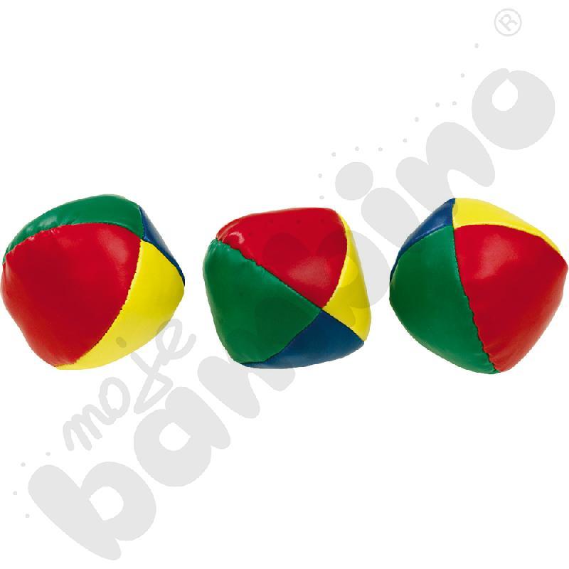 Piłeczki do żonglowania miękkie