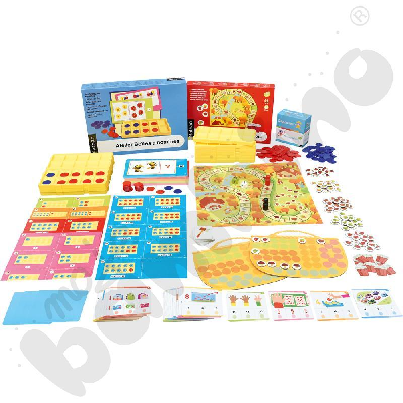 Zabawy matematyczne dla 5-latka - zestaw