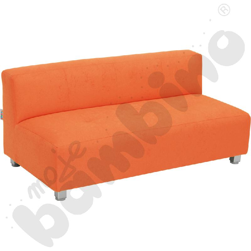 Kanapa duża - pomarańczowa...
