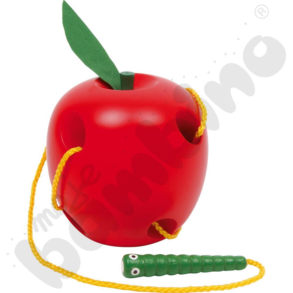 Jabłko z robaczkiem