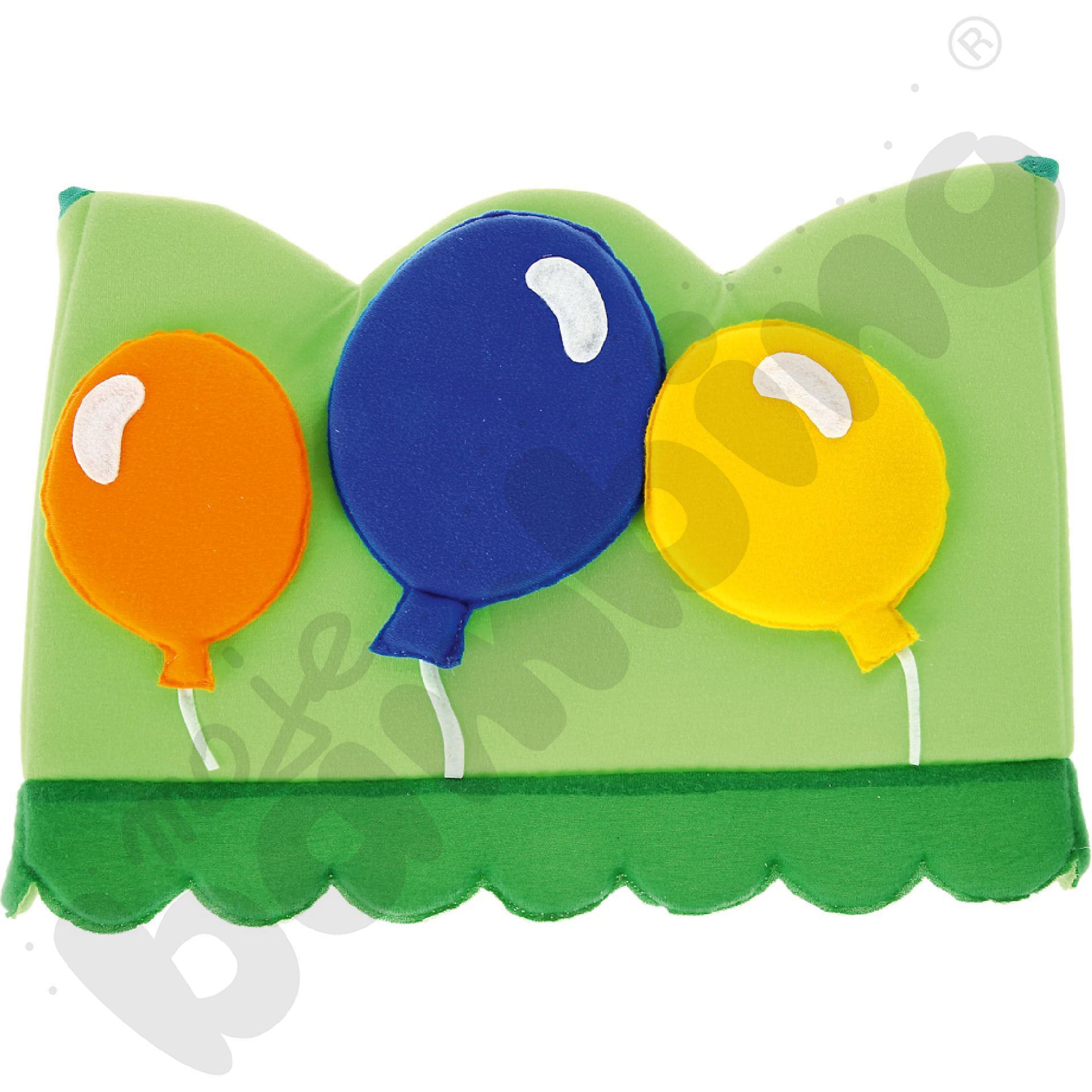 Dekoracje urodzinowe na krzesełko - balony