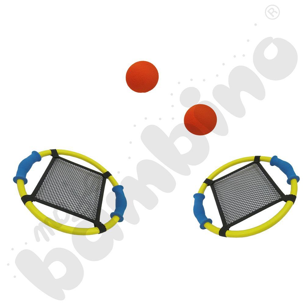 Złap piłkę w siateczkęaaa