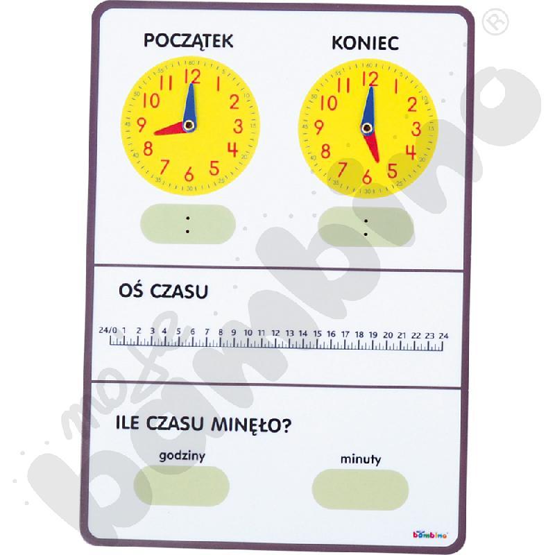 Tablica czasu - dla uczniów