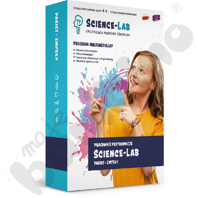 Science Lab: Zmysły – pakiet