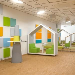 Aranżacje przestrzeni szkolnych