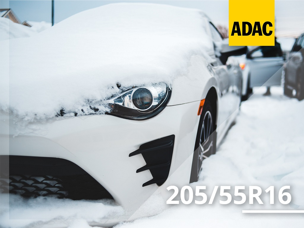 Test opon zimowych ADAC 205/55 R16