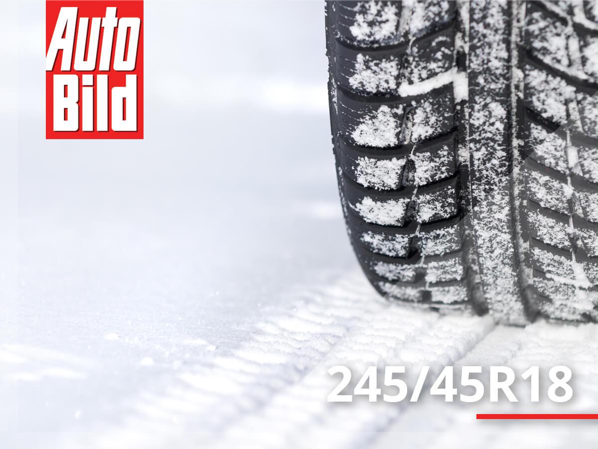 Test opon zimowych 245/45 R18