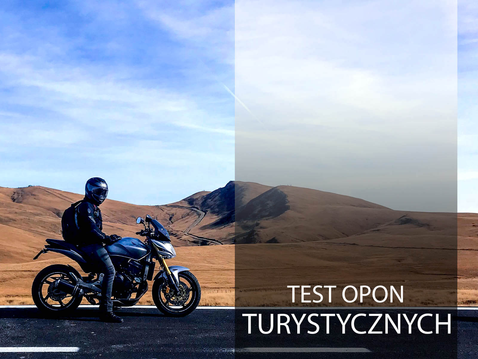 Test opon turystycznych