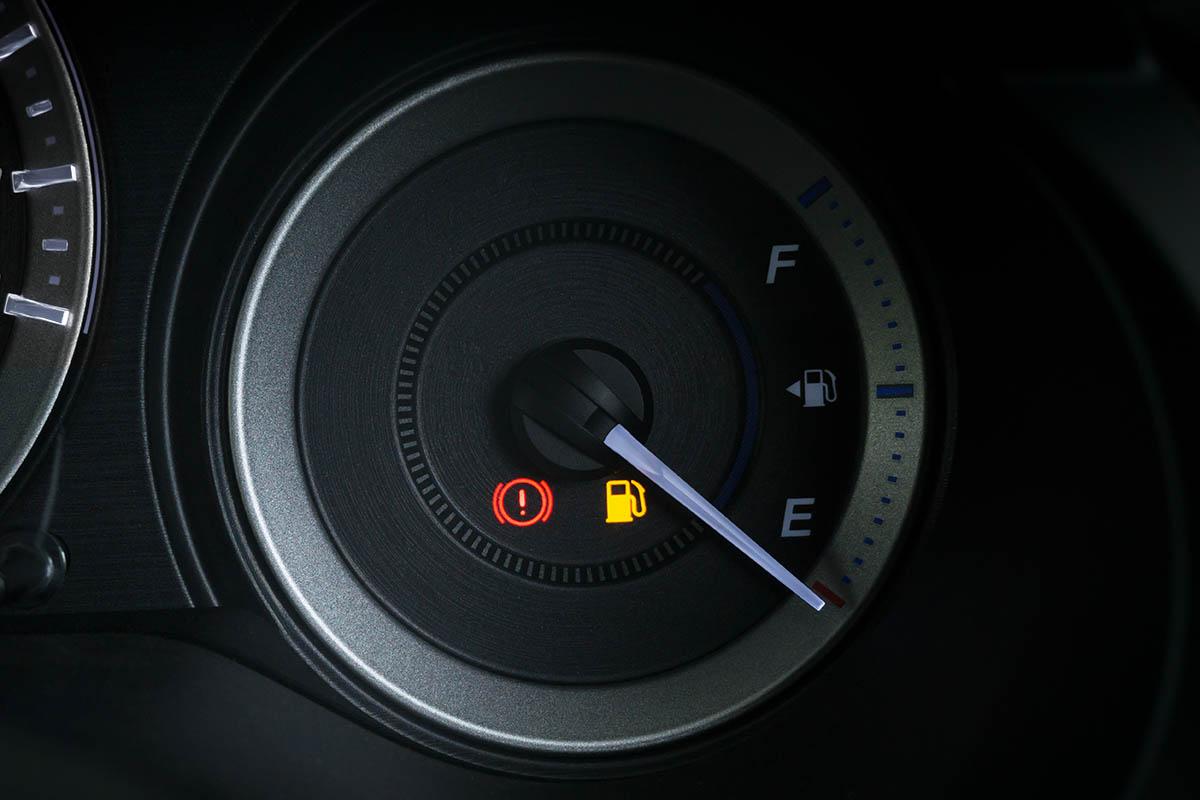 wkaźnik poziomu paliwa