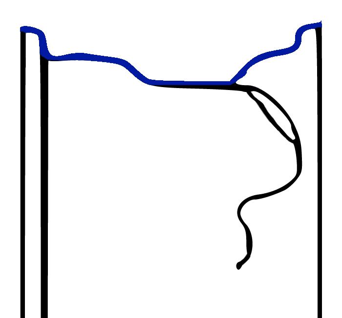 Profil przekroju felgi FH2