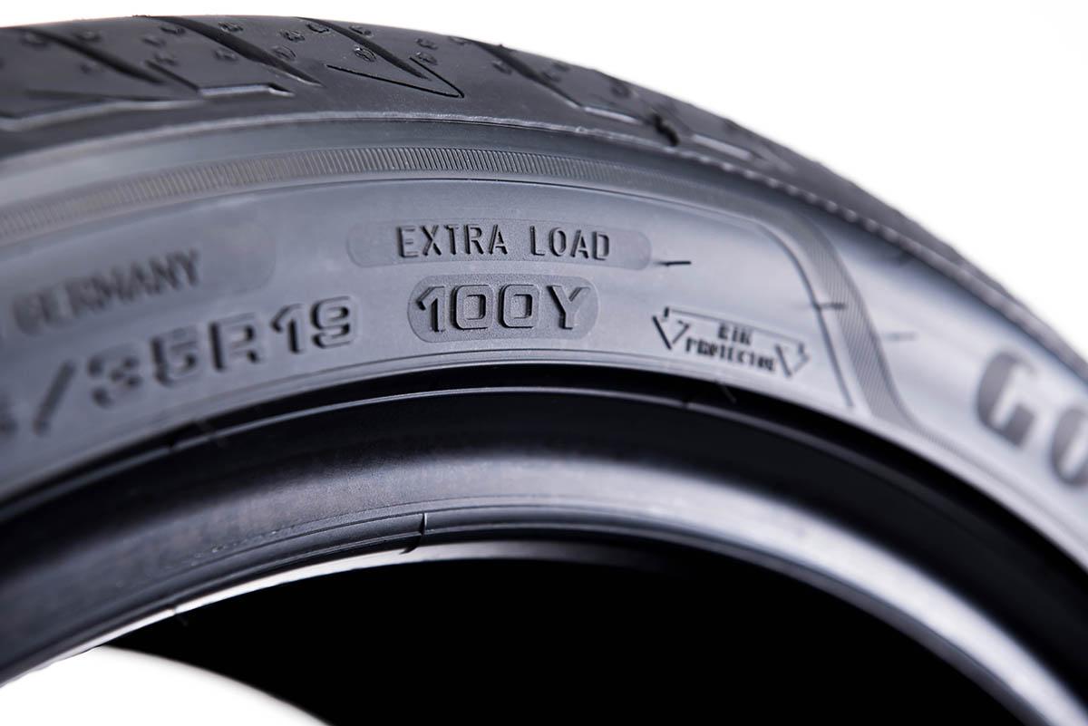 Opona extra load