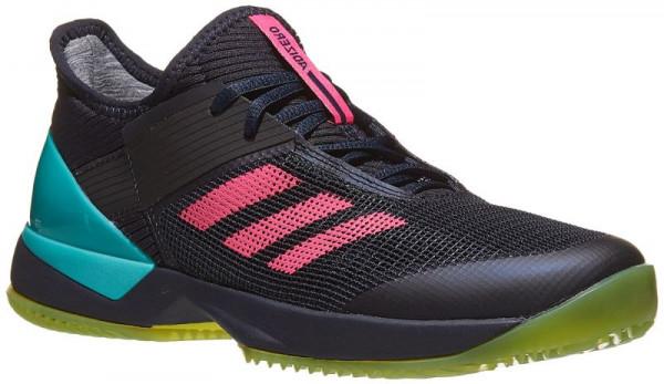 Damskie buty tenisowe Adidas Adizero Ubersonic 3 W Clay legend inkshock pinkaqua