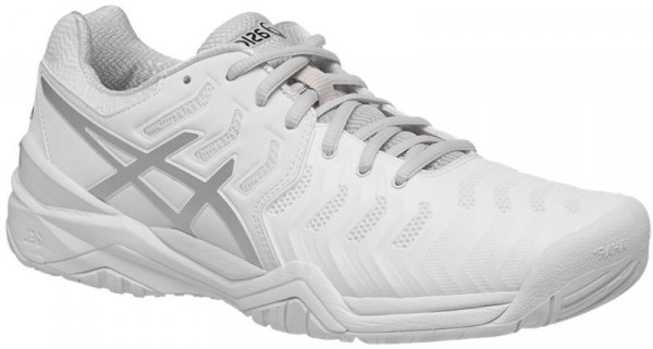 BUTY TENISOWE ASICS GEL RESOLUTION 7 WHITE MEN