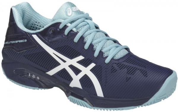 Damskie buty tenisowe Asics Gel Solution Speed 3 Clay indigo bluewhiteporcelain blue