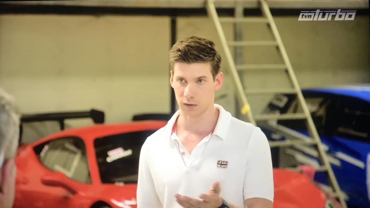Lukas Drozdowicz - polski kierowca w Tajlandii występuje w TVN Turbo